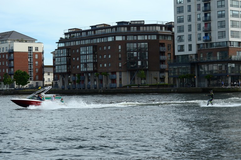 Extreme sports enthusiasts should head to Dublin Docklands
