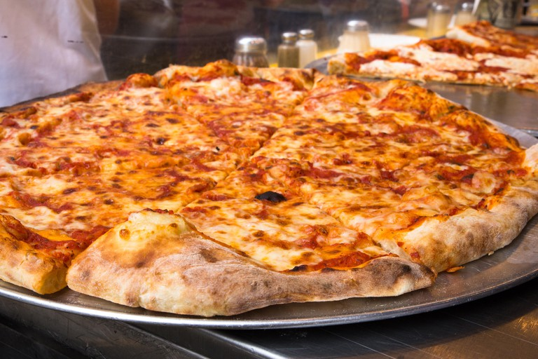 Authentic New York City-style pizza