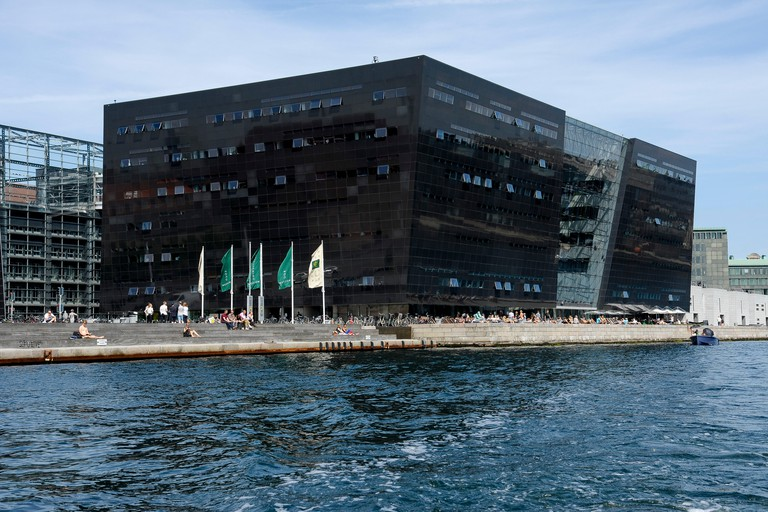 The Royal Library is also known as the Black Diamond
