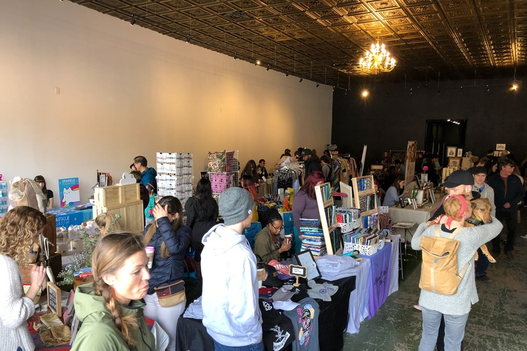 Parkdale Flea market in Toronto