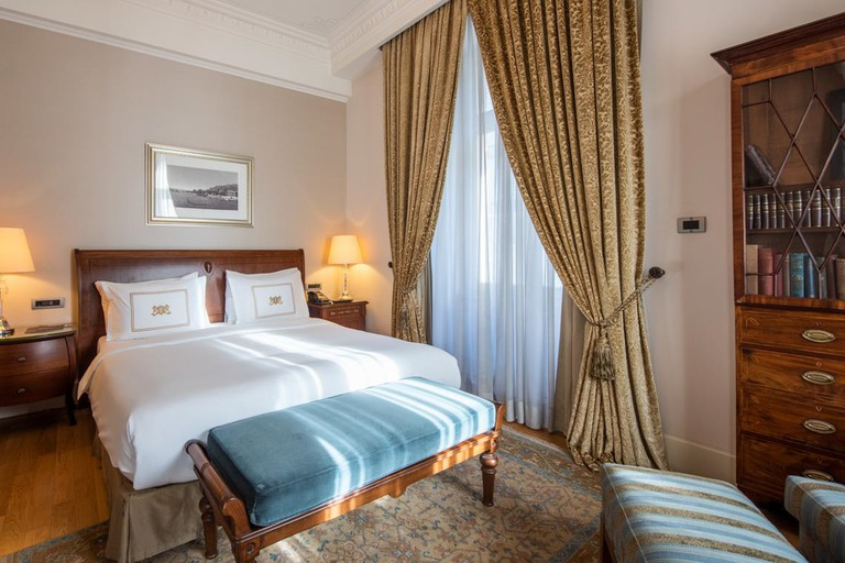 Pera Palace is renowned for its old-fashioned luxury