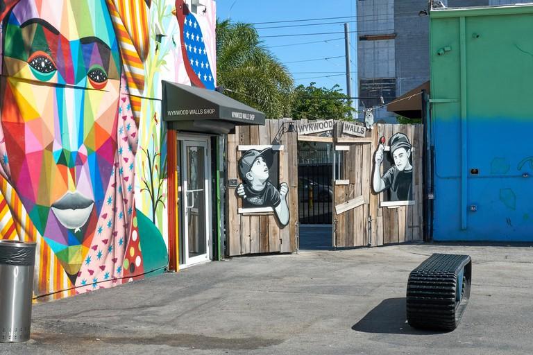 Wynwood Walls, Miami, USA.