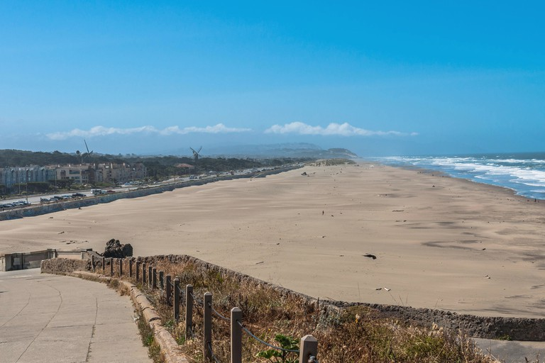 Ocean Beach offers 16 fire rings for fun get-togethers