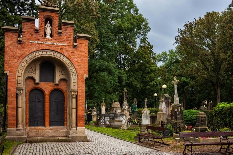 Rakowicki Cemetery (Polish: Cmentarz Rakowicki) in Krakow, Poland
