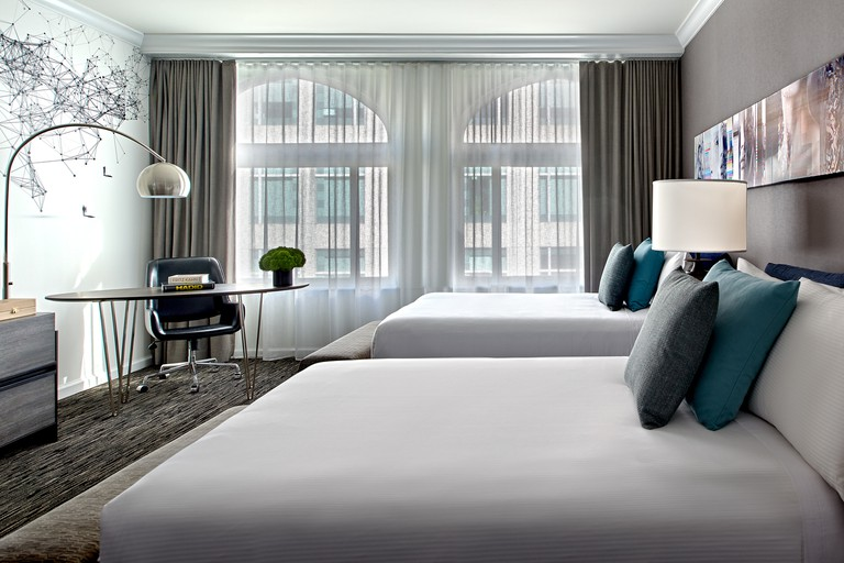 Deluxe Double Guest Rooms ensure Optimum space and comfort, Hotel Zelos, San Francisco