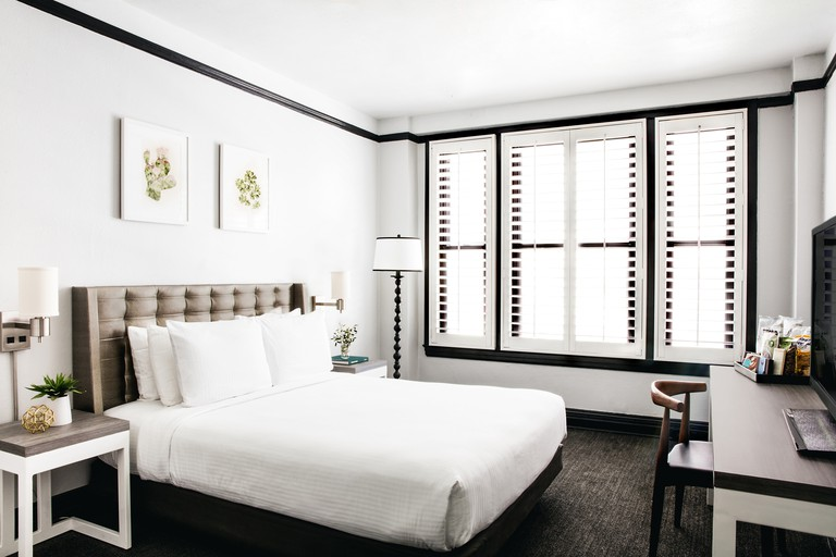 The rooms at Tilden Hotel are contemporary and fresh with minimalistic decor, Tilden Hotel, San Francisco