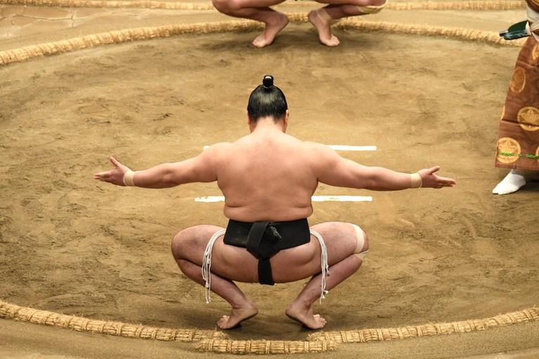 Japanese Sumo wrestling