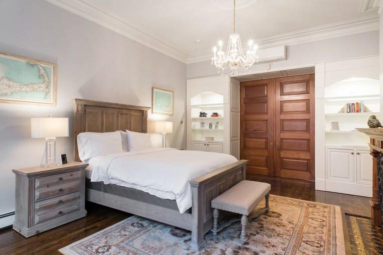 Luxury duplex in a Back Bay brownstone