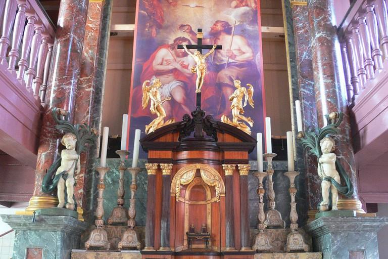 The chapel inside Museum Ons' Lieve Heer op Solder