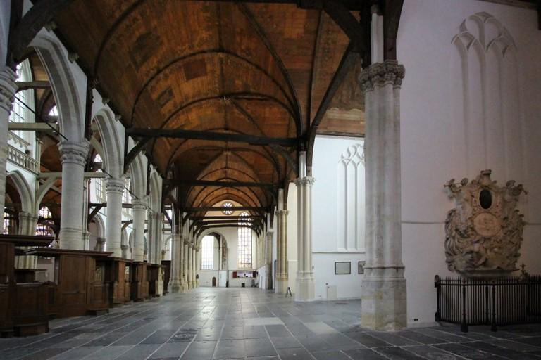 Inside the Oude Kerk