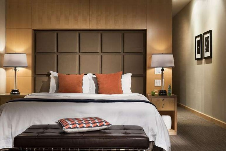 The SoHo Metropolitan Hotel's rooms have state-of-the-art technology