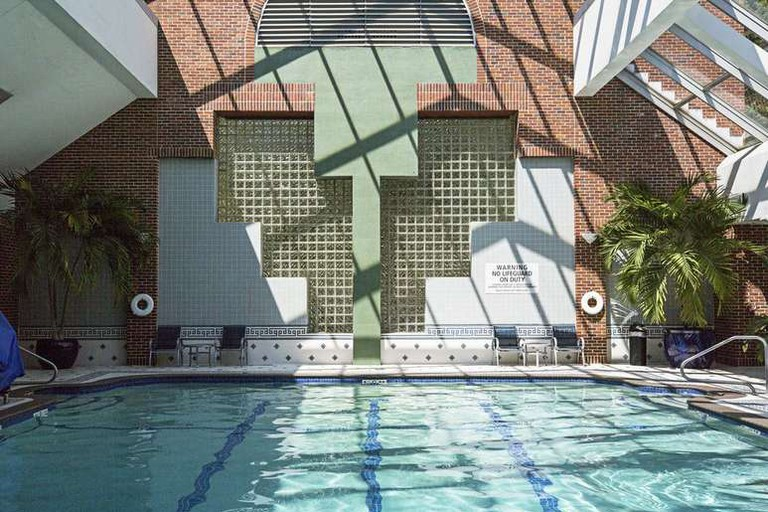 Indoor pool at Royal Sonesta