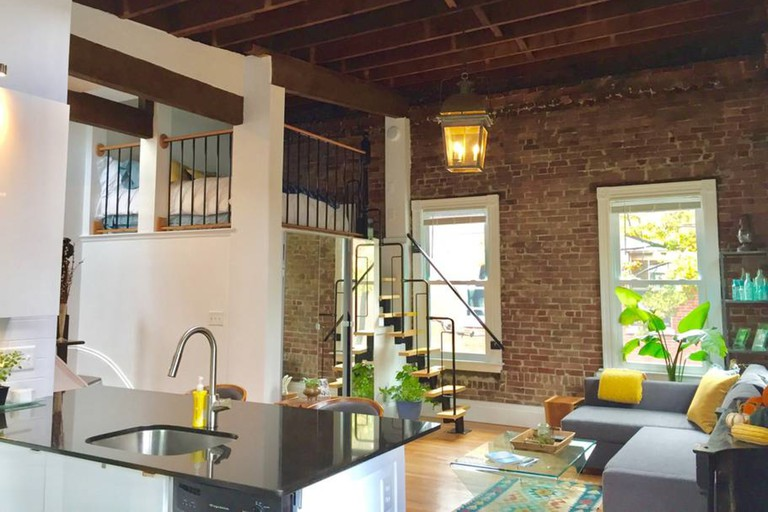 Eclectic loft near Harvard Square