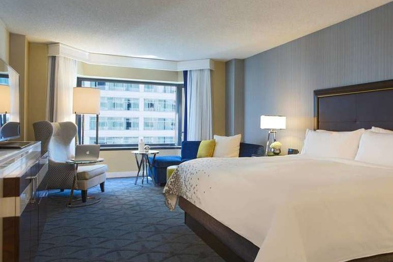 The Renaissance Chicago Downtown Hotel is situated close to Chicago's Theater District