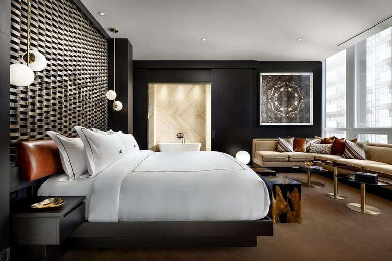 Some of the suites at Bisha Hotel Toronto are by Kravitz Design