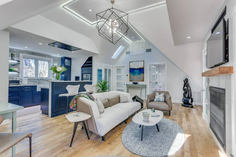 Stunningly reimagined Victorian carriage house in Jamaica Plain