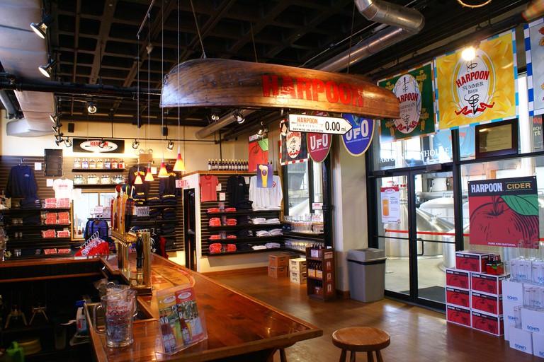 Harpoon Brewery Boston, MA
