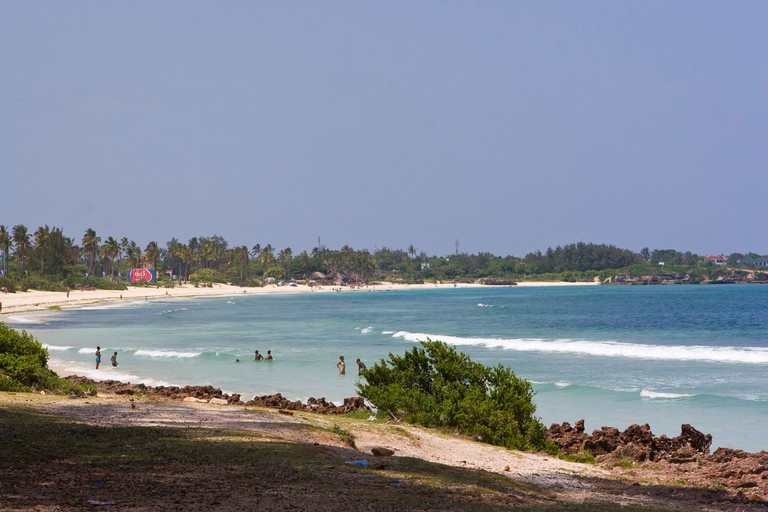 Coco Beach is on the Msasani Peninsula