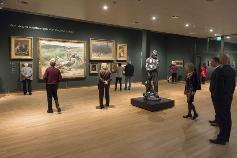Inside the Van Gogh Museum