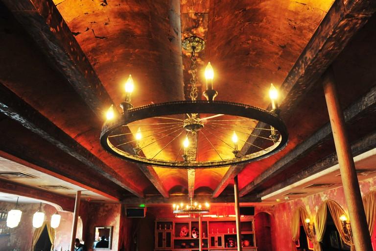 Interior at Los Altos bar