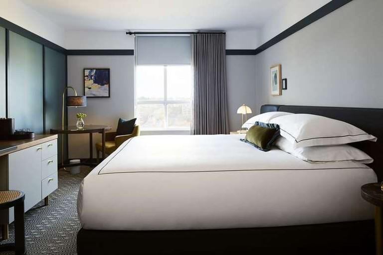 Kimpton Saint George's rooms feature furniture custom designed by Mason Studio