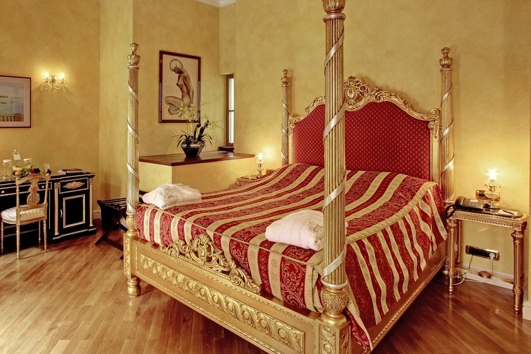 Some parts of the Alchymist Grand Hotel and Spa date back to the 13th century