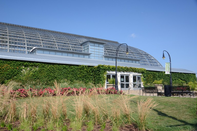 Garfield Park Conservatory is one of the largest plant conservatories in the US