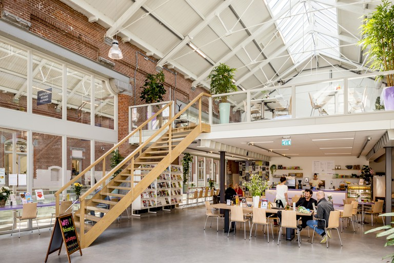 Interior of Cafe Belcampo