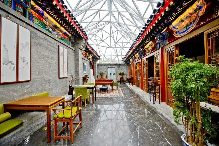 This design boutique hotel gives guests a glimpse of China, Cours Et Pavillions, Beijing