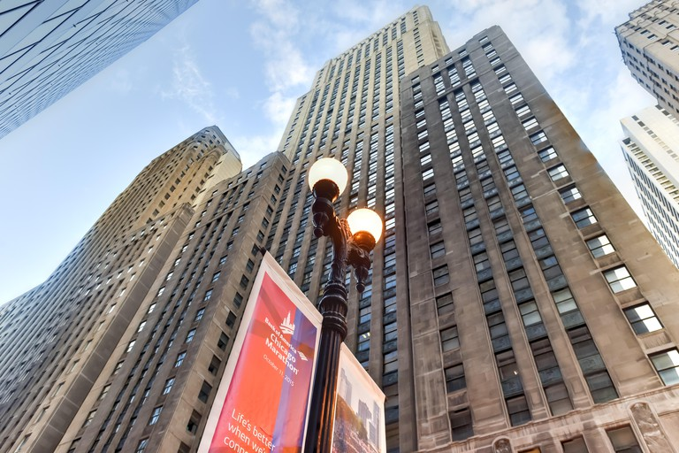 The One North LaSalle Building was the city's tallest structure for 35 years