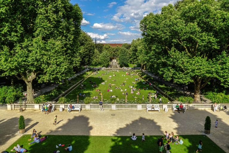 Berlin Neukolln Kornerpark