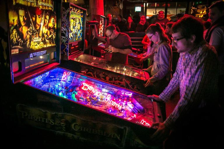 Play retro arcade games at Replay Lincoln Park