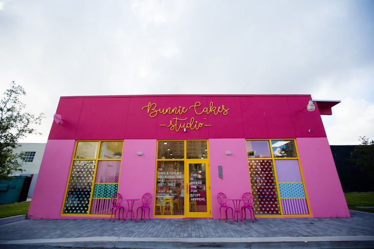 Bunnie Cakes specialize in cupcakes
