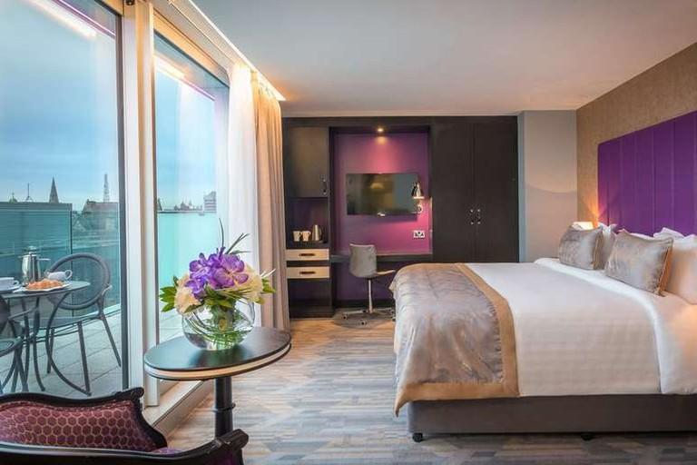 Double room at Trinity City Hotel