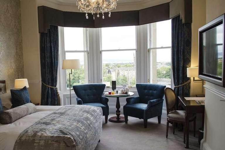 Guest suite at The Bonham Hotel
