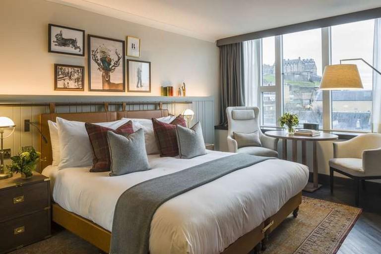 Double room at Kimpton Charlotte Square Hotel