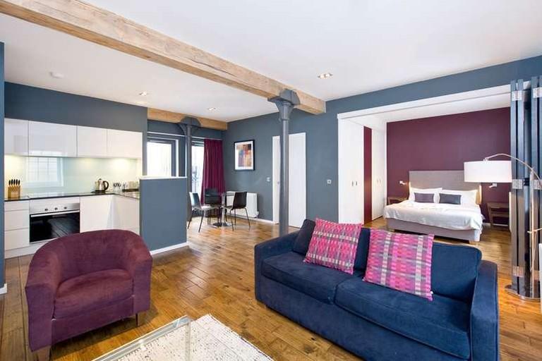 You'll find many restaurants and cafés near The Malt House Apartments