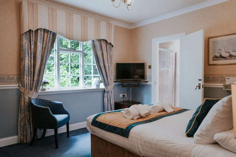 Double room at The Edinburgh Lodge