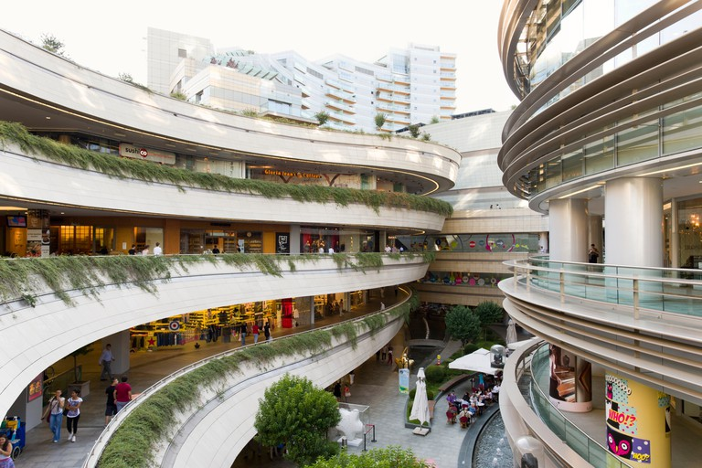 Kanyon shopping mall, Levent, Istanbul, Turkey.