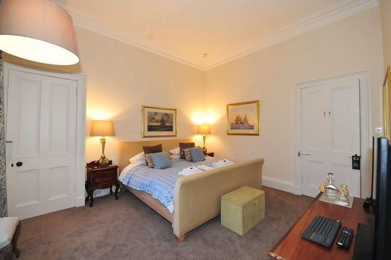 Double room at Edinburgh Sixteen