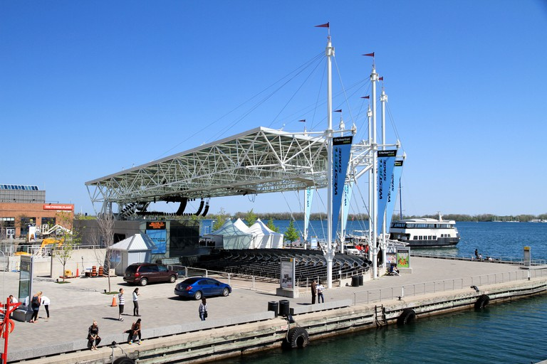The Harbourfront Centre works with 450 organizations and hosts more than 4,000 events a year.