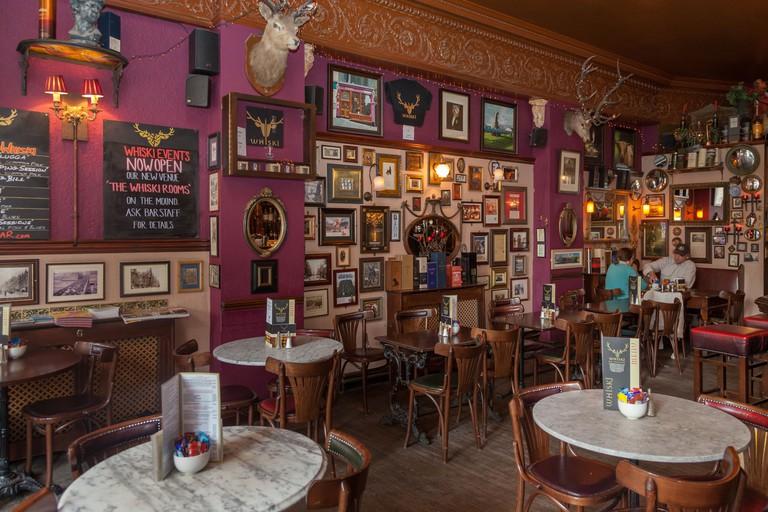 Whiski Rooms bar in Edinburgh