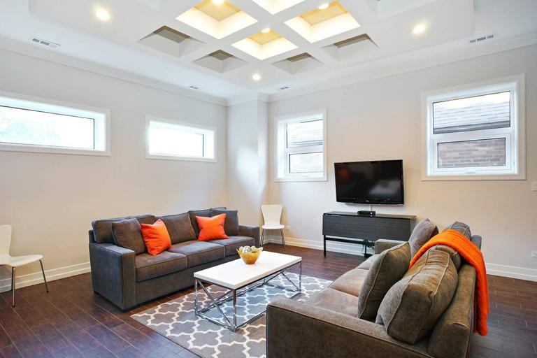 Luxury rental with sauna