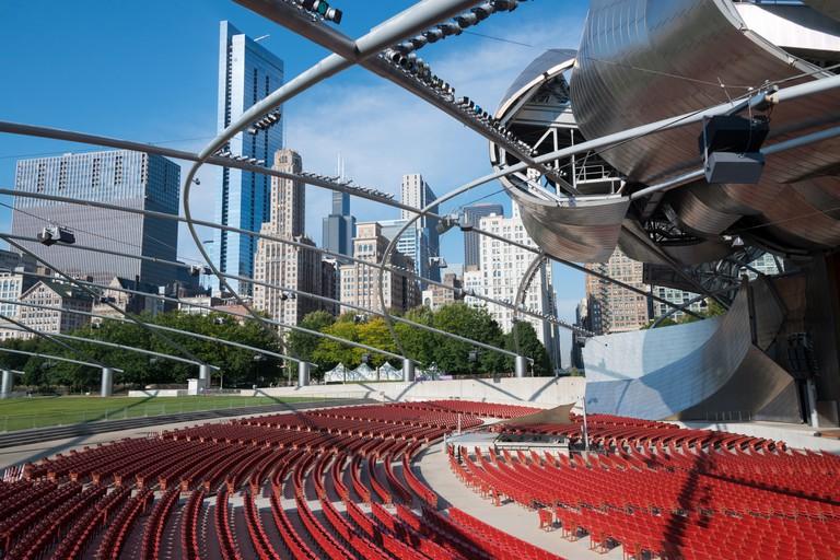 Jay Pritzker Pavilion, Millenium Park. Chicago.