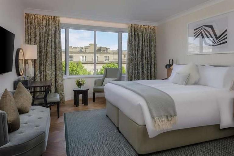 Guest room at Conrad Dublin