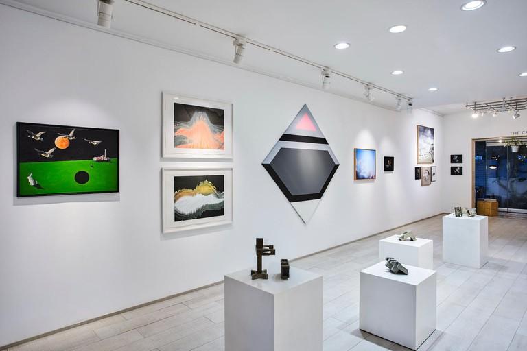 Fann a Porter art gallery located inside The Workshop, Dubai
