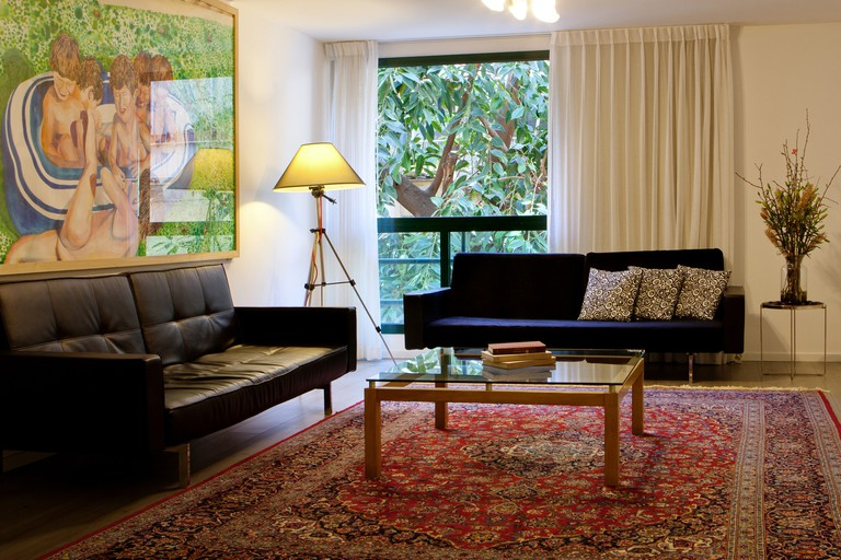 The hotel is dotted with hundreds of original works of art, The Diaghilev, Tel Aviv