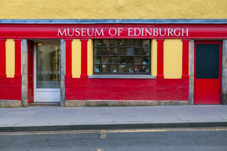 The Museum of Edinburgh, situated on Canongate along the Royal Mile in Edinburgh