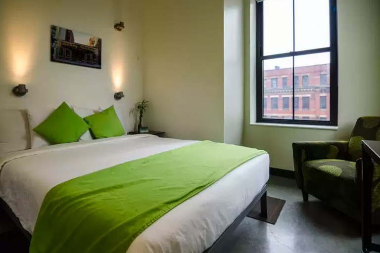 HI Boston Hostel opened in 2012 and is designed for the modern hosteler