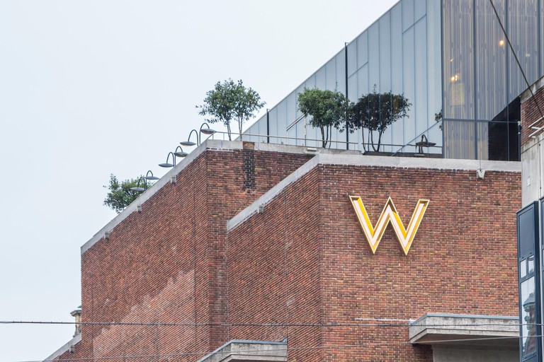 MR PORTER is on the top floor of the W Amsterdam